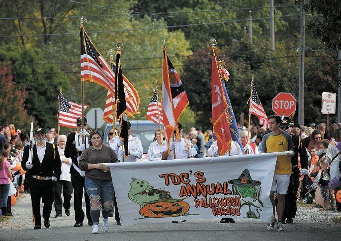Tiffin Developmental Center Halloween Parade 2020 TDC annual Halloween parade | Advertiser Tribune A banner and